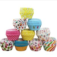 Wholesale Greaseproof Paper Mini Baking Paper Cupcake Liners Wrappers Muffin Cake Tray Cake Tools Kitchen supplies