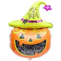 best halloween pumpkins - Best Deal New Fashion Good Quality Halloween pumpkin head Decorative Foil Balloons for Party Decorations PC