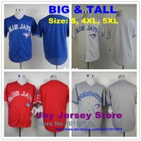 big blue baseball - 30 Teams Big Tall Toronto Blue Jays Jersey Size S XL XL Jose Reyes Munenori Kawasaki Jose Bautista Josh Donaldson Russell Martin