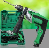cordless tool sets - Drop Shipping Copper core W Multifunction Drill Impact Drill Set household tools