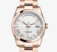 daydate - High quality rose golden unisex new arrivel Automatic Mechanical Wrist Watch mm gift daydate