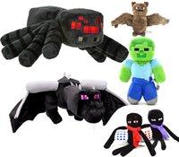 birthday presents - Minecraft toys Big Spider Dragon Bat Zombie Plush dolls cartoon action figures Deluxe Large Kids toys Best Birthday Christmas Presents