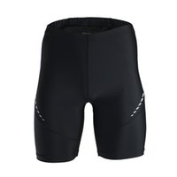 Wholesale Men s Cycling Pants ARSUXEO Stretch Breathable Quick Drying Compression Shorts Outdoor Sport Running Cycling Tights Shorts