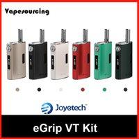 battery vent - Authentic Joyetech Egrip VT Kit with ml eGrip VT Vent Pipe mah Battery VS Egrip Oled CL Kanger Nebox E Cigarette Kits