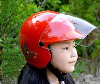 baby bicycle helmet - 2016 New Taiwan ZEUS children half helmet motorcycle electric bicycle helmets four seasons of boys and girls baby safety helmet size S