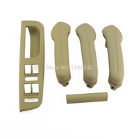 interior door handles - Interior Door Grab Handle Cover Switch Bezel Set fit for Jetta Golf mk4