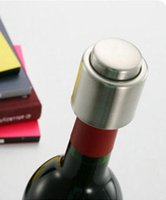 Wholesale Hot Sale Stainless Steel Vacuum Sealed Red Wine Bottle Spout Liquor Flow Stopper Pour Cap