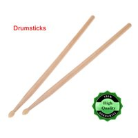 Wholesale High Quality Drumstick Drum Sticks A Maple Wood Drumsticks with Nylon Tip for Drum Set Lightweight I536