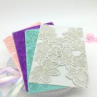 beautiful wedding cards - Wedding Invitation card beautiful flower Wedding custormer Invitation card