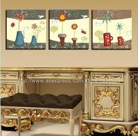 Cheap Free Shipping Fresh Kids Room Art Home Decor Wall Art Decor Oil Paintings Canvas Home Interior Wall Art Wave Art Decor Paint