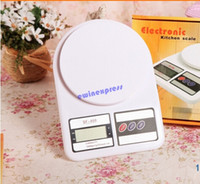 Wholesale 7kg g Digital Kitchen Food Diet Postal Scale Electronic Precise Postal Weight Scale scales balance Kitchen tools