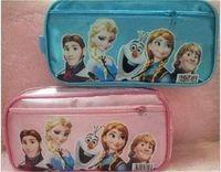Wholesale Frozen New Hot sale Pencil case Bag princess Elsa anna Red NEW Fashion Pencil Bag Children Girl s Cartoon
