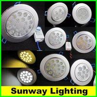 led downlight - Cree LED Lighting Dimmable W W W W W W Downlight LED Ceiling Lights Indoor Recessed LED Light Lamps Warm White AC V