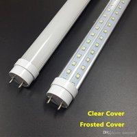 Wholesale 25pcs W Ft Feet T8 mm Led Tube Light AC85 V G13 V Shaped SMD2835 Led lights Super Bright lm High Quality