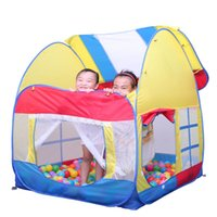 Cheap new interesting indoor and outdoor folding camping large tent house children ocean ball game room children's tent play game house for kids