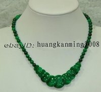 Wholesale Charming Emerald Beads Necklace quot