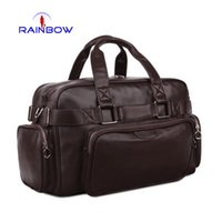 Wholesale Fashion Travelling Bag High grade Pu Leather Men s Handbags Colors Man s Hand bags Luggage