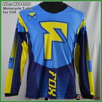 Wholesale motorcycle racing long sleeve jersey motocross cycling t shirt off road jersey autumn for man M L XL
