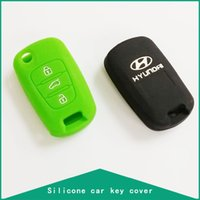 Wholesale Silicone Cover For Hyundai I30 KIA K2 K5 Sportage R Remote Car Key Accessories