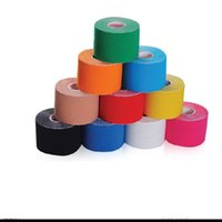 Wholesale 2016 New Arrive cm x m NEW Kinesiology Kinesio Roll Cotton Elastic Adhesive Muscle Sports Tape Bandage Physio Strain Injury Support