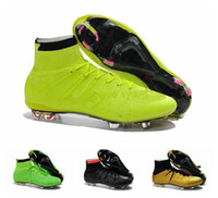 acc steel - 2015 Outdoor Football boots Mercurial Superfly FG Acc Soccer Boots Handsome Men Magista Obra Soccer Shoes Eur