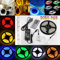 rgb led price - Best Price CE RoHs Flexible Led Strip Light Stripe RGB SMD Leds m Waterproof Keys IR Remote Controller