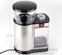 Wholesale 2015newStainless steel electric coffee grinder coffee grinding machine adjust the thickness Multi level grinding professional Gr