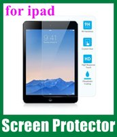 Wholesale Tempered Glass Screen Protector Film Explosion Proof Screen Anti water Guard For Ipad Ipad Ipad Mini Tablet PC SSC014