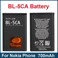 battery save - Save Factory BL CA BL5CA Battery mA For Nokia N71 N72 N91 E50 E60 Phone Battery Fast Shipping
