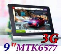 9 pouces MTK6577 Android 4.2 Tablet PC Dual Core, Phablette, 1.2 GHz, 512 mo de ROM GSM WCDMA 3G Sim fente pour carte GPS Bluetooth Pliage Veille TA97