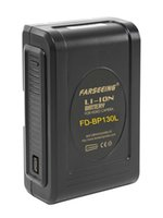 v mount battery - Farseeing FD BP130L WH Battery V Lock Mount