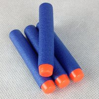 Wholesale pc7 cm electric manual various brands of soft bullet gun general foam sponge EVA elite bullet15070403