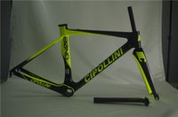 Wholesale New World champion Cipollini BOND road bike frame T1000 K MCipollini RB1K RB1000 Carbon Frame fork headset seatpost Size M L BB30 BB68
