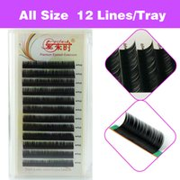 Wholesale Natural Long D Eyelash Extension Individual Lashes False Lashes Fake Lash