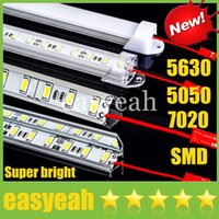 Wholesale Super Bright m Meter LED Bar Lights SMD DC12V cm led Hard Rigid Party display Strip Lights U or V Style Shell CE ROHS