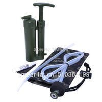 Wholesale Jman Portable Soldier Emergency Water Filter Purifier for Hiking Camping Fishing Hunting Backpacking order lt no track
