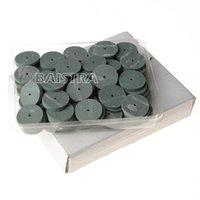 Wholesale 100Pc pack dental Lab Rubber Polishing Wheels Burs Silicone Polishers