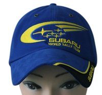 Wholesale F1 racing signature commemorative caps car team racer caps subaru logo baseball hat