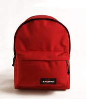 Wholesale 1PCS Red day pack Famous brand packsack Eastpack daypack Durable packbag Nylon rucksack Eastpak backpack fashion popular bag