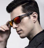 Wholesale Aluminum Polarized Lens Sunglasses Men Sport Mirror Sun Glasses Driving Outdoor Glasses Wayfarer Goggle Eyewear Accessories