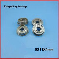 Wholesale 5PCS MF115ZZ flange bushing bearing ball bearings mm