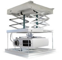 Wholesale 1meter motorized electric elevator scissors ceiling projector mount bracket lift projector ladder remote control v ceiling