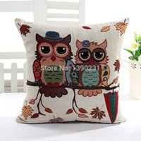 Wholesale High Quality Linen Home Decor Pillow Cover Double Eagle Legend Cushion Cover Pillow Case Throw Pillows For Couch