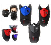 balaclava winter hats - Hot Thermal Neck Warmers Fleece Balaclavas CS Hat Headgear Winter Skiing Ear Windproof Warm Face Mask