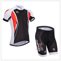 santini - New Arrival Santini High Quality Cycling Jerseys Black Red Color Top Quality Men Summer Cycling Bike Suit Anti Pilling Xight Cycling Clothes