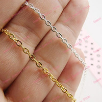 flat ring - M Gold Silver Tone Flat Links Opened Chains Finding x3mmThickness mm accessories