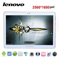 Wholesale NEW inch tablet pc lenovo octa core MTK6592 GB GB IPS screen tablets G GPS Phone Call phablet Android4 Dual SIM wifi