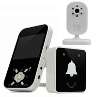 Wholesale Digital wireless visual doorbell TFT LCD wireless baby monitor support GB SD card SM