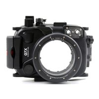 Wholesale underwater waterproof camera housing for Canon G7X UP to M FT