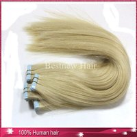 Under $50 glue in hair extensions - 100g quot quot quot Lightest Blonde Glue Skin Weft Tap in Human Hair Extensions Remy Indian Human Hair Extension